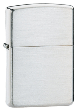 Bricheta Zippo Brushed Finish Sterling Silver (argint masiv)