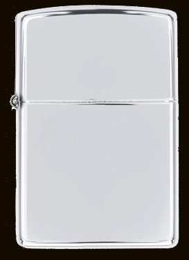 Bricheta Zippo High Polish Chrome