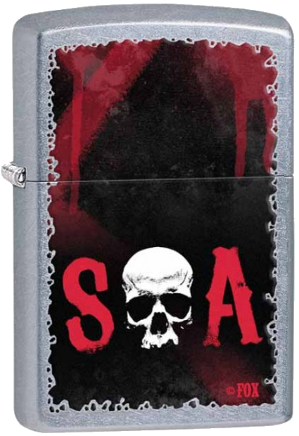 Bricheta Zippo Sons of Anarchy SOA