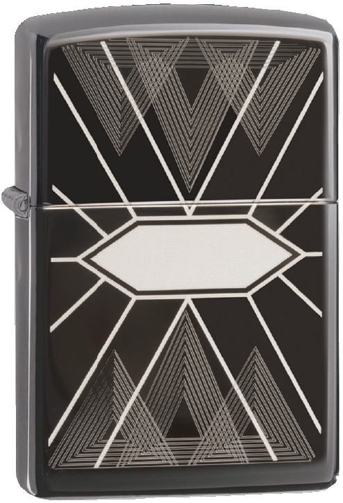 Bricheta Zippo Cross Lines - Luxury Design